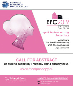 EFC2019_CALL FOR ABSTRACT!