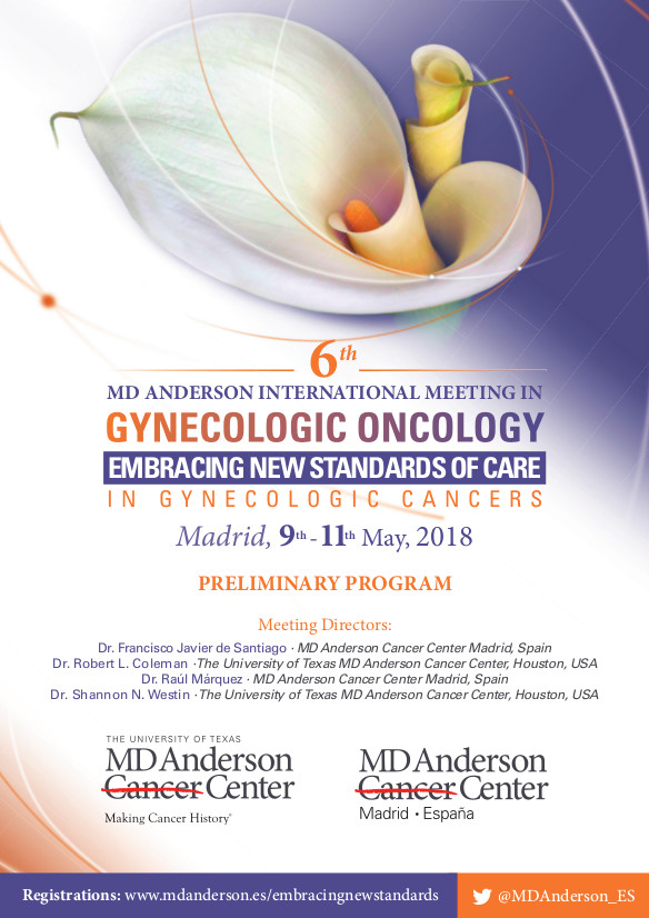 6th MD Anderson International Meeting